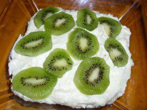 kiwi, mascarpone