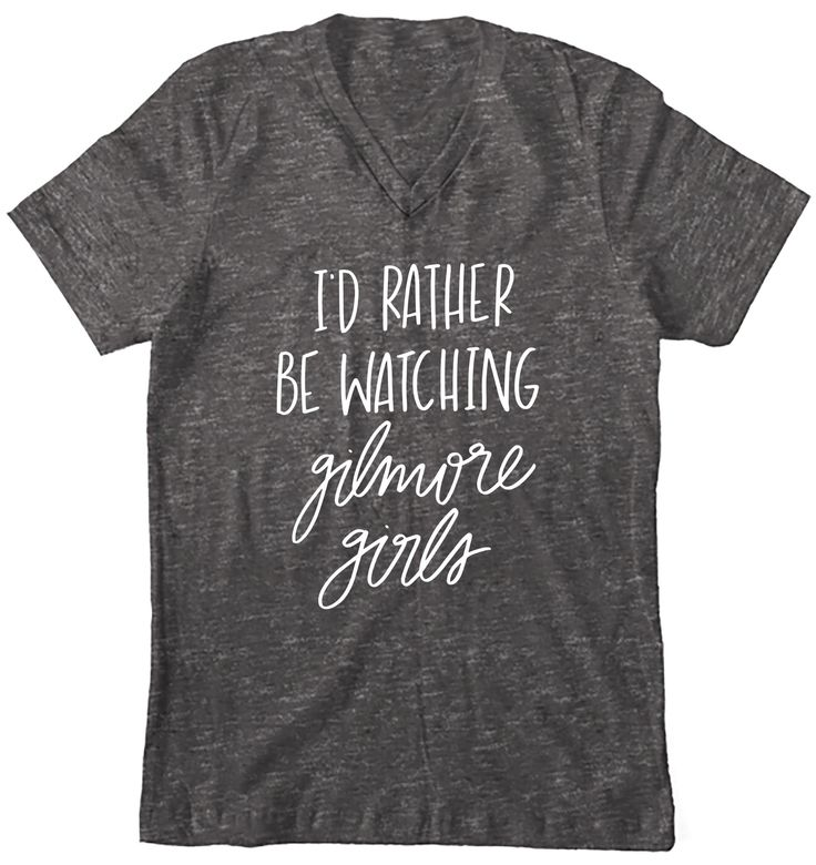PRE-ORDER This item will ship on or before November 18th. Details I'd rather be watching Gilmore Girls than doing pretty much anything else. ;) I don't know about you, but I definitely consider myself