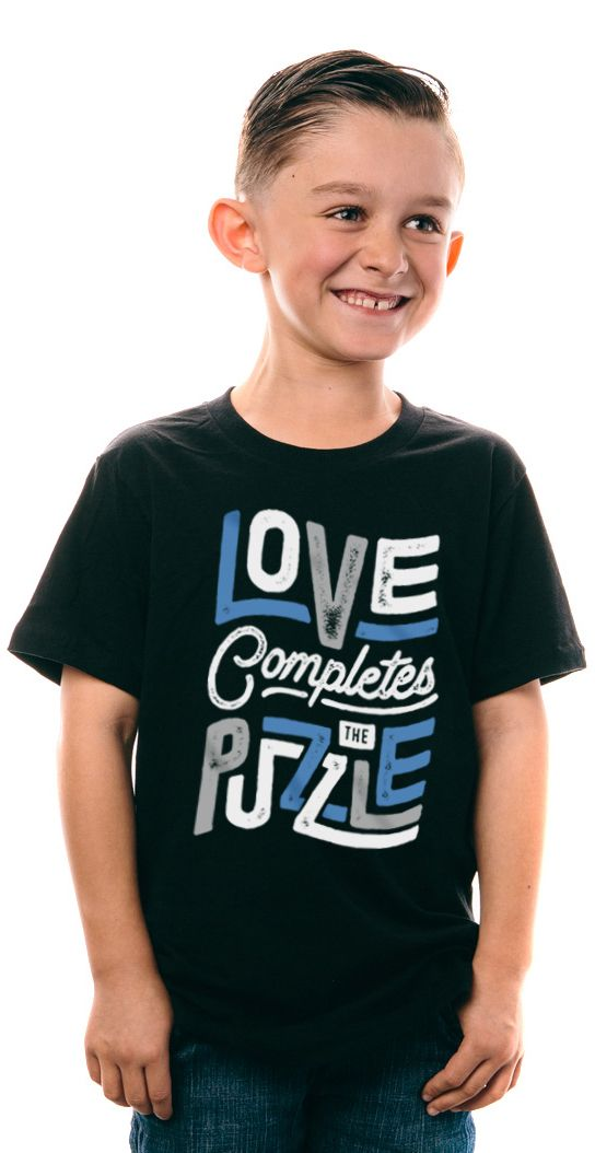 Love completes the puzzle <3 Let your little ones raise awareness for #autism. Shirts available in women, men, kids & toddler sizes! ---   http://tipsalud.com   -----