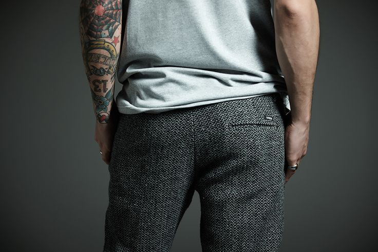#Derriere fall/winter 2014 #dderriere #jeans #denim #Pantalone #Pant #Chino #Wool #Ear #Grey #Maglietta #Tshirt #Grey #Logo #Ricamo #Red