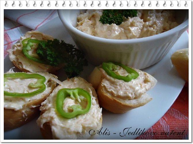 Jedlíkovo vaření: Pomazánka z uzeného lososa