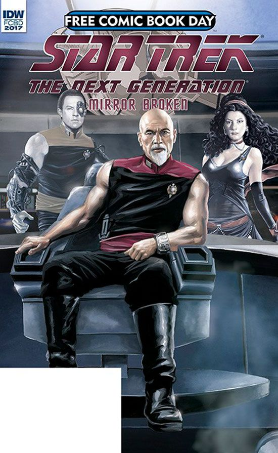 Star Trek You MUST See the Cover of IDW's TNG: Mirror Broken (i am thinking NOPE)