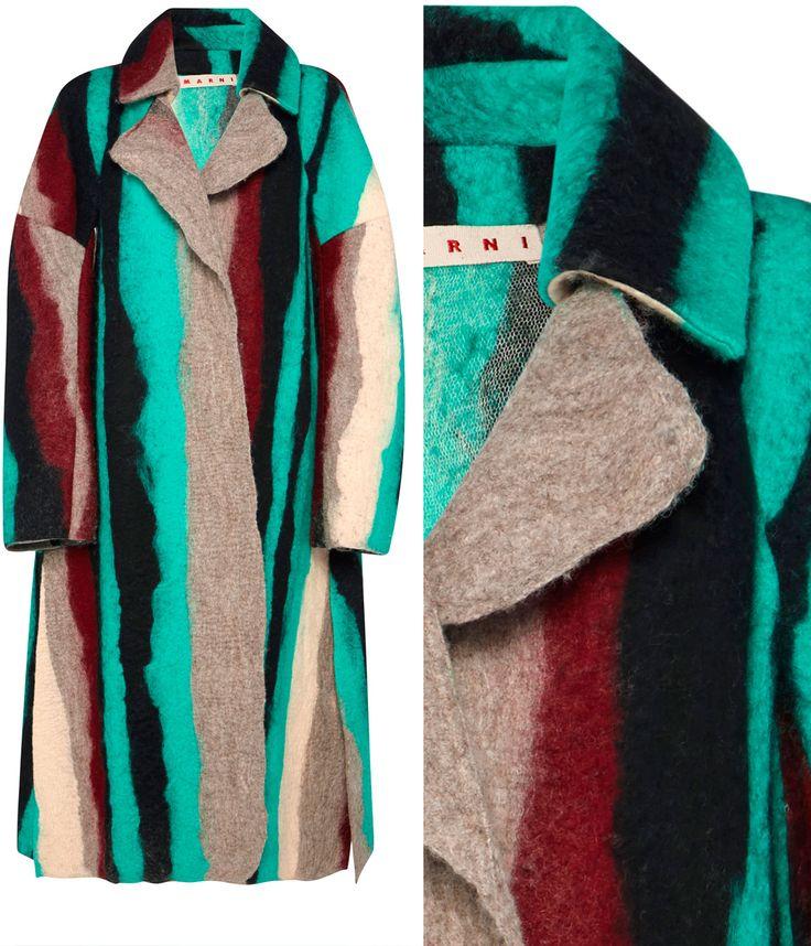 пальто из войлока