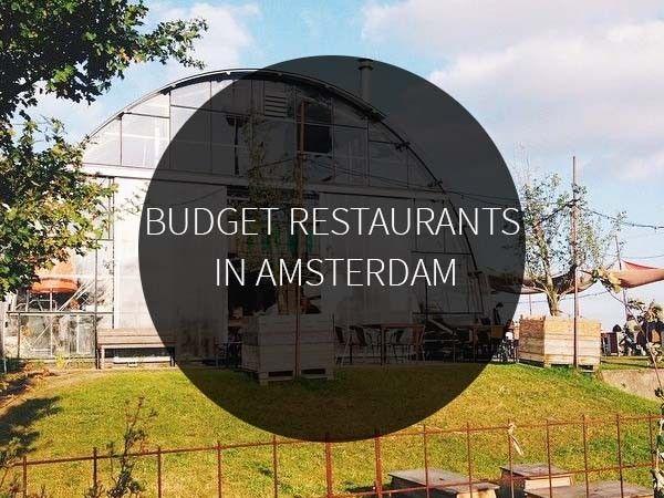 Budget restaurants in Amsterdam