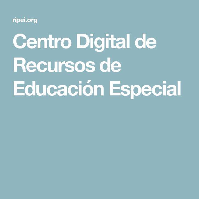 Centro Digital de Recursos de Educación Especial