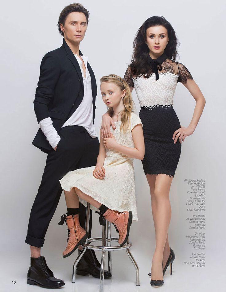 Vital Agibalow | IRINA DVOROVENKO editorial/cover photoshoot by VITAL AGIBALOW for HENSEL – New York. | http://www.VITALagibalow.com