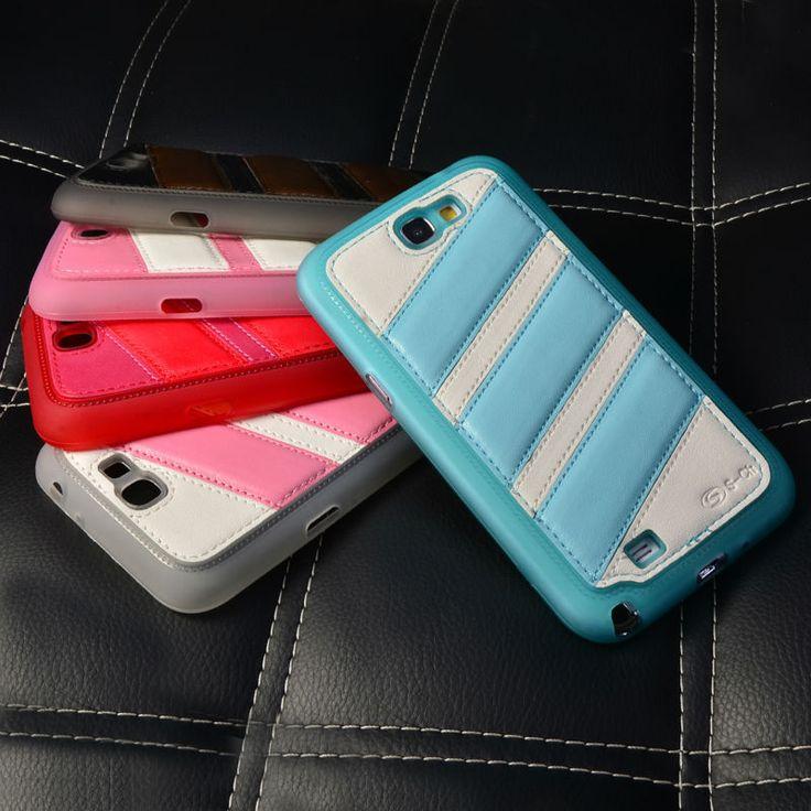 Телефон чехол тпу, s 2-сн для Galaxy NOTE2 большой кожа двойной цвета высокая защиты мягкий задняя часть чехол чехол