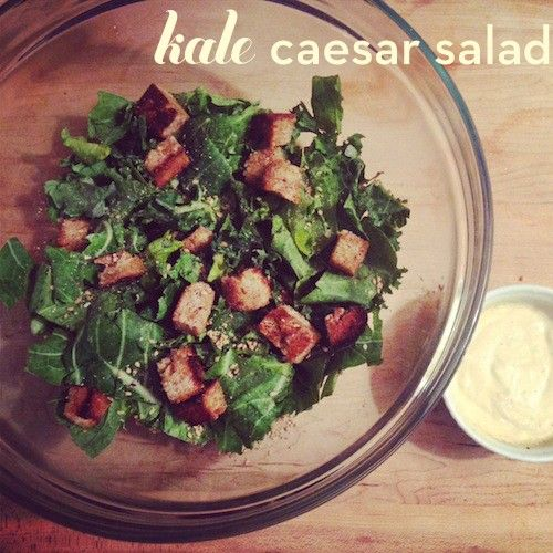 Vegan Kale Caesar Salad | Wellness Today