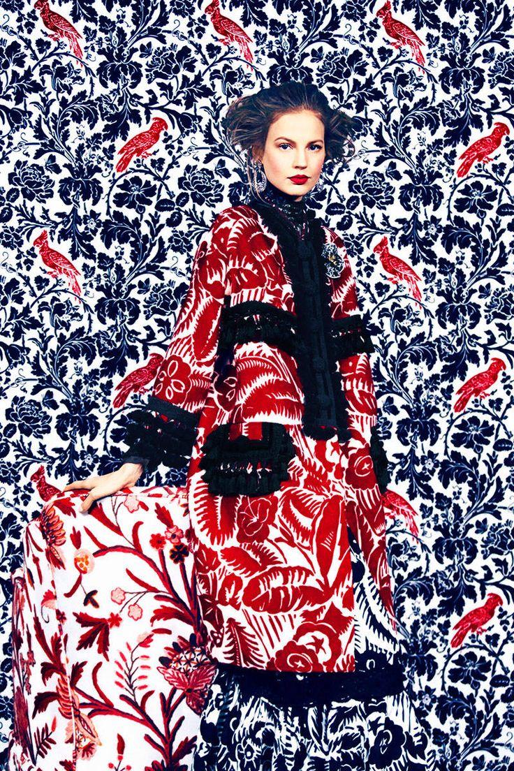 Best Printed Clothing For Spring 2014 - Floral Print Clothing - Harper's BAZAAR