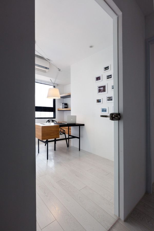 The Little White Apartment by Z AXIS DESIGN
