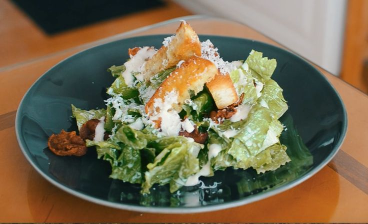 FRESH CHEESY GARLICKY GOODNESS!    A caesar salad isn't complete without the deliciously cheesy garlicky dressing. Learn to make this amazing dressing from scratch!