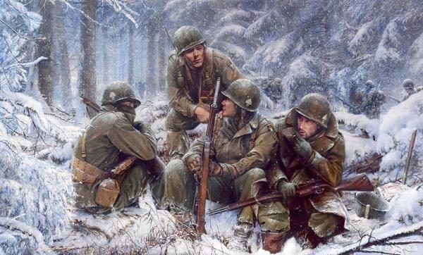 Battle of the Bulge : World War II : Living History Week :: Home