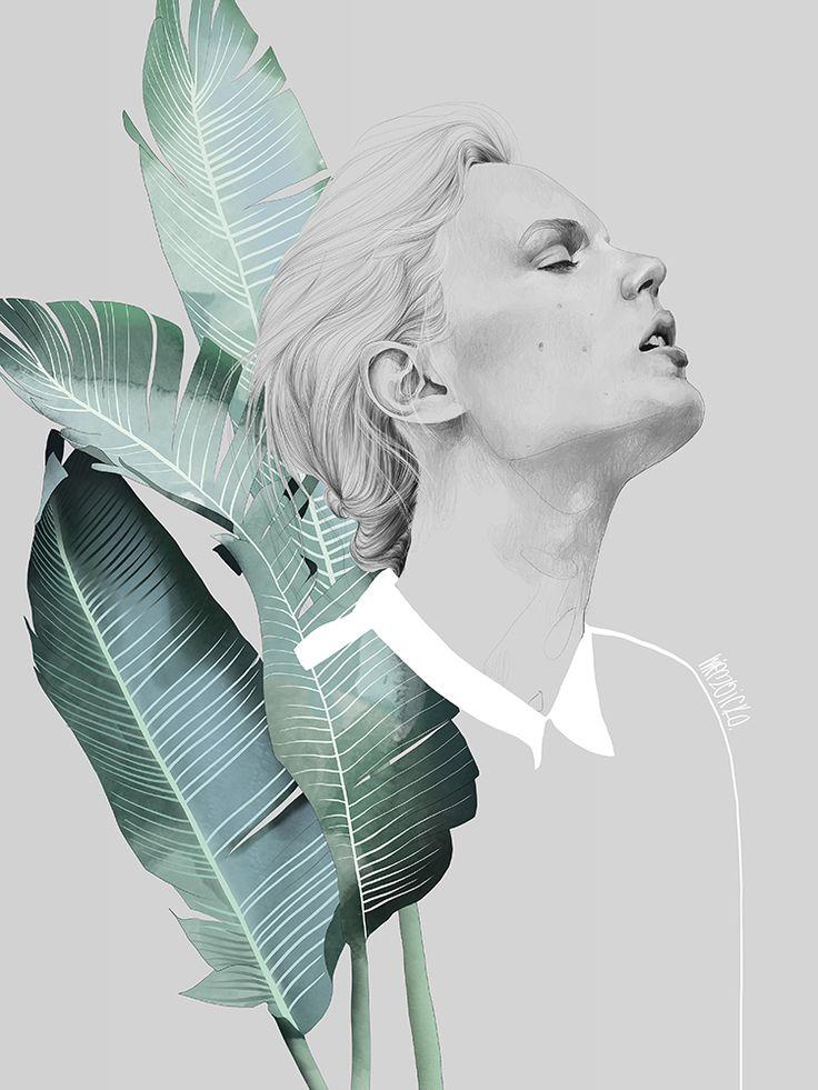 Foliage Woman - AGATA WIERZBICKA - Lumarte - art online