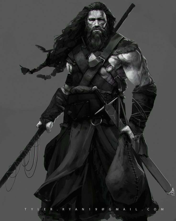 Viking Hunter , Tyler Ryan on ArtStation at http://www.artstation.com/artwork/viking-hunter