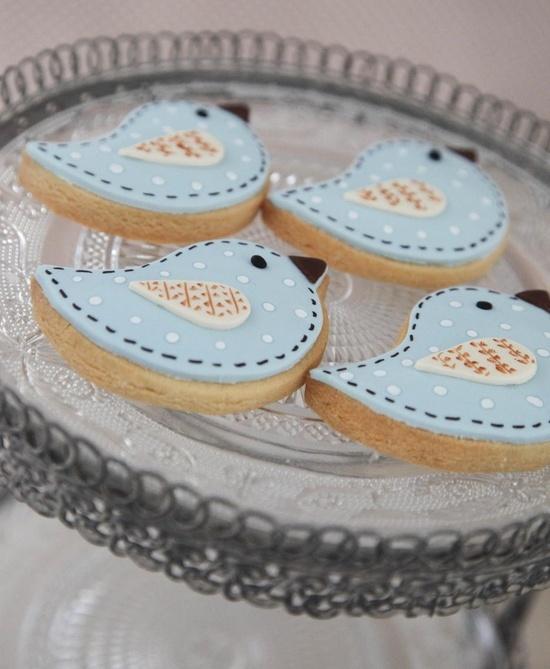 Bird Cookies - ideas for Caitlin's 2nd birthday