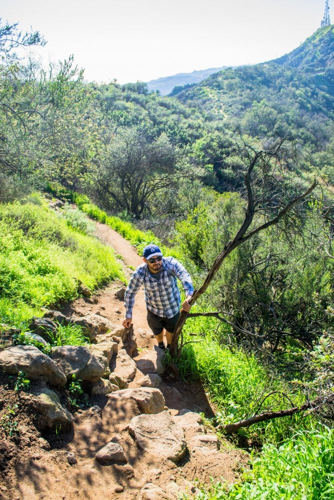Hiking Hollywood Mountain #hollywood #mountain #sky #hiking #hike #hikes #hiking #spring #losangeles #california #losangeles #los #angeles #la #visit #usa #city #friendlylocalguides #