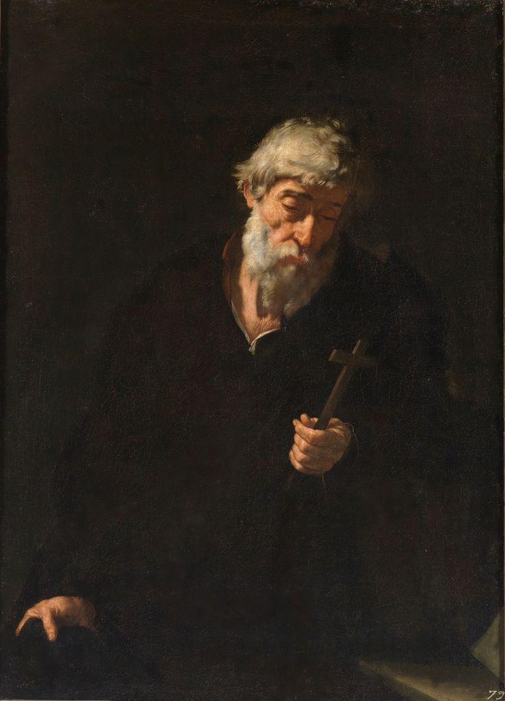 An Anchorite / Un anacoreta // Siglo XVII // José de Ribera // #Christian #monasticism