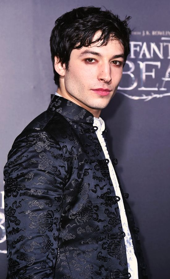 """Out actor Ezra Miller 