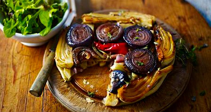Try this Red Onion, Fennel and Chilli Tarte Tatin from Episode 1! http://gustotv.com/recipes/dinner/red-onion-fennel-chilli-tarte-tatin/