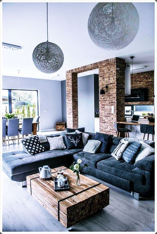 Rustic Modern Living Room Decor Trends 2020 Rustic Modern Living