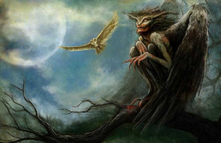 Mythological demon creatures final, sorry
