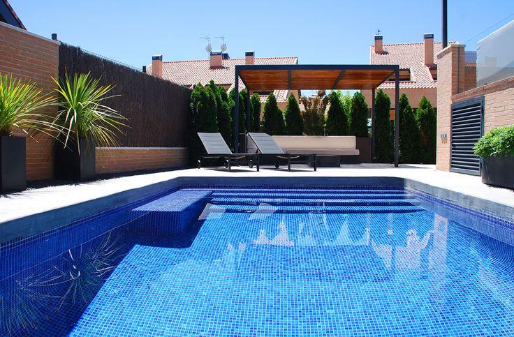jard n minimalista piscina cordyline australis dracena