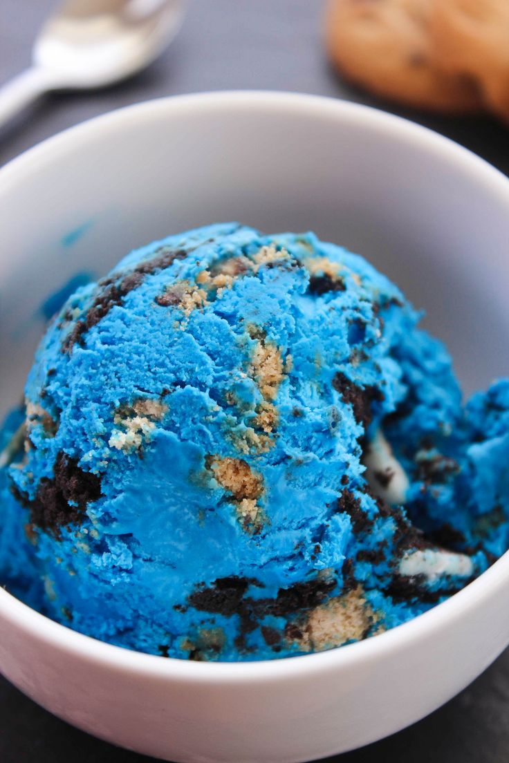 Cookie Monster Ice Cream