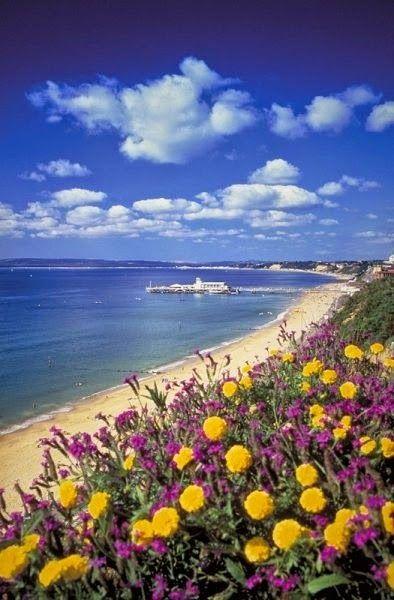 European Beaches - Bournemouth Beach and Pier, Dorset - UK