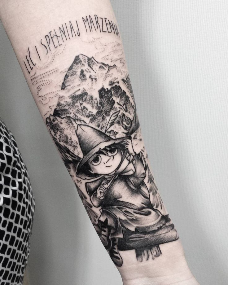 Fresh WTFDotworkTattoo Find Fresh from the Web #włóczykij #snusmumriken #snufkin…