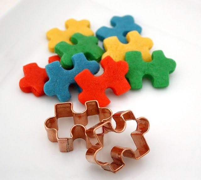 Autism Awareness cookies.....a great idea for a great cause!!!