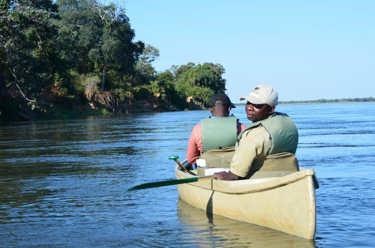 Lower Zambezi Canoeing Safari... yes please!
