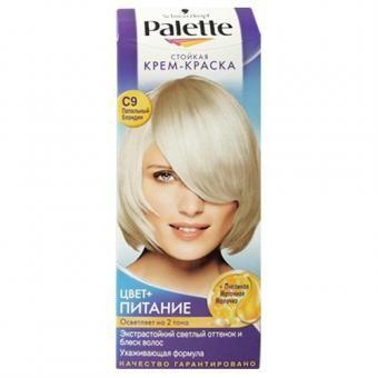 PALETTE-C 9 Пепельный блондин купить, PALETTE-C 9 Пепельный блондин цена, PALETTE-C 9 Пепельный блондин недорого