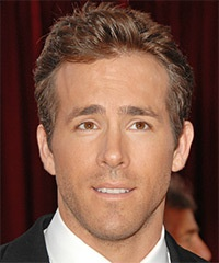 Ryan Reynolds - Ryan turned heads with this neat and tidy 'do at the 82nd Annual Academy Awards. The top is jagged cut to create a little height, blending into the short cut back and sides for a swift finish.