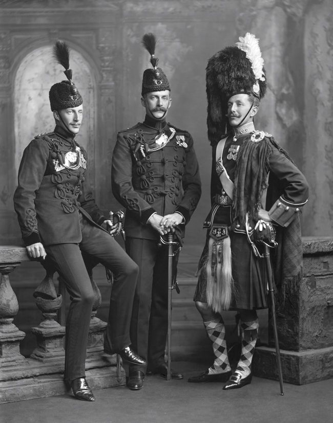Captain, later Brigadier-General Baker-Carr & brothers 1904