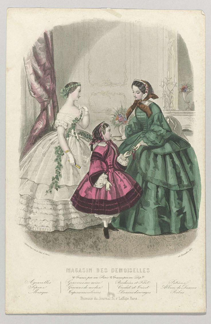 Magasin des Demoiselles, 25 décembre 1857