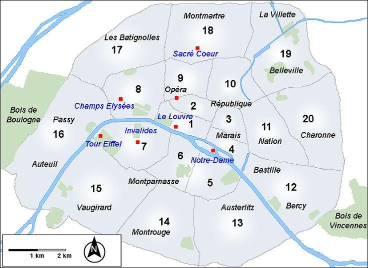 Παρίσι: Η πόλη του Φωτός. - Παρίσι » Ταξιδιωτικός οδηγός - Πληροφορίες & Αξιοθέατα