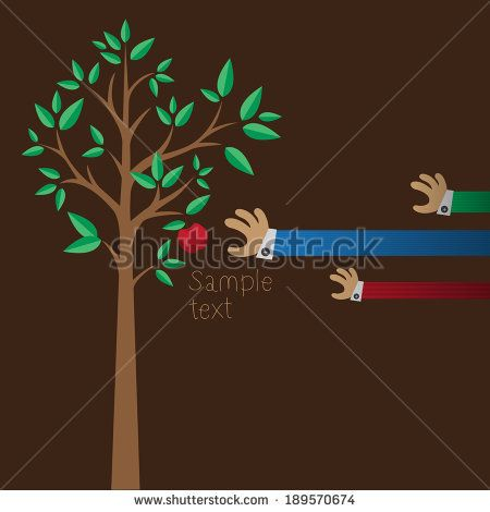 red apple tree with hands http://www.shutterstock.com/pic-189570674/stock-vector-red-apple-tree-with-hands.html?src=kf6DuYeydaJbeAU9sja52A-1-5