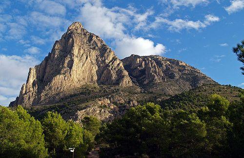 Puig Campana by F. Prieto, via Flickr