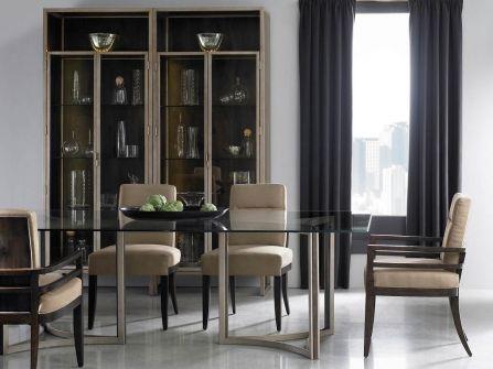 Metropolitan Mill Street Double Pedestal Dining Table   Decorium.com