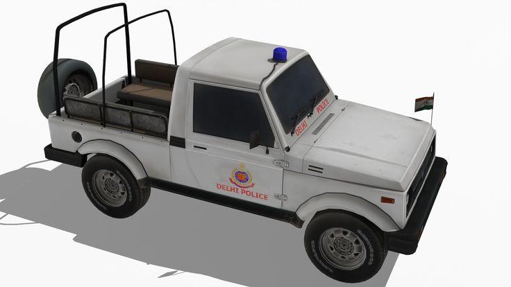 India Maruti Gypsy 3D Max - 3D Model
