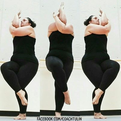 """""""I want to feel confident and focus on my posing not my clothing."""" @Coach Tulin #plussize #motivation"""