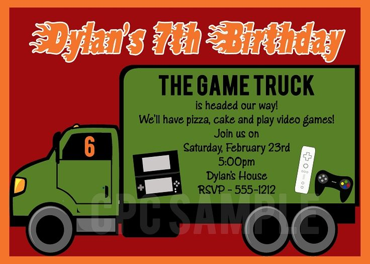 Best Video Games Invitations Images On Pinterest Video Games - Video game birthday invitation template