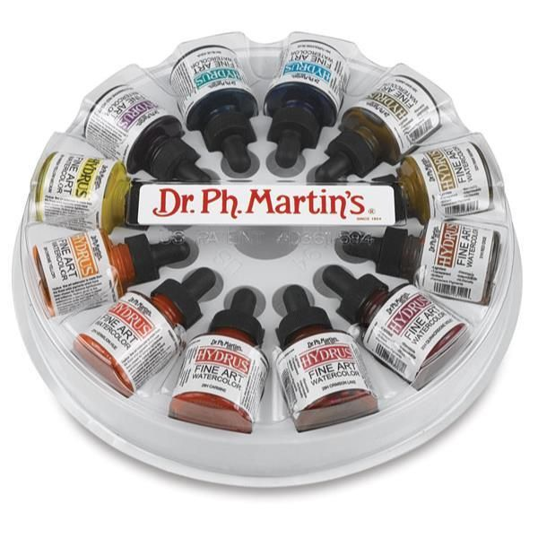 Dr Ph Martin S Hydrus Fine Art Liquid Watercolors Set 3