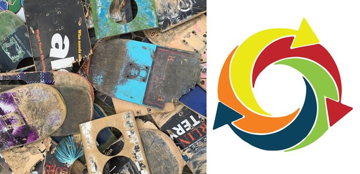 Find out about the success of amazing #skateboard up-cyclers Thrashion in our new blog post!