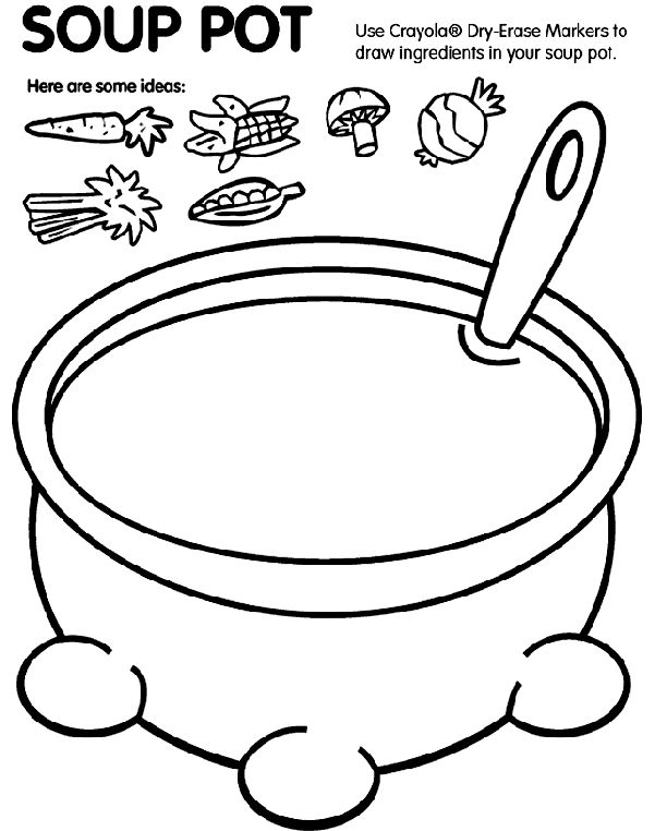 Free Stone Soup Coloring Pages