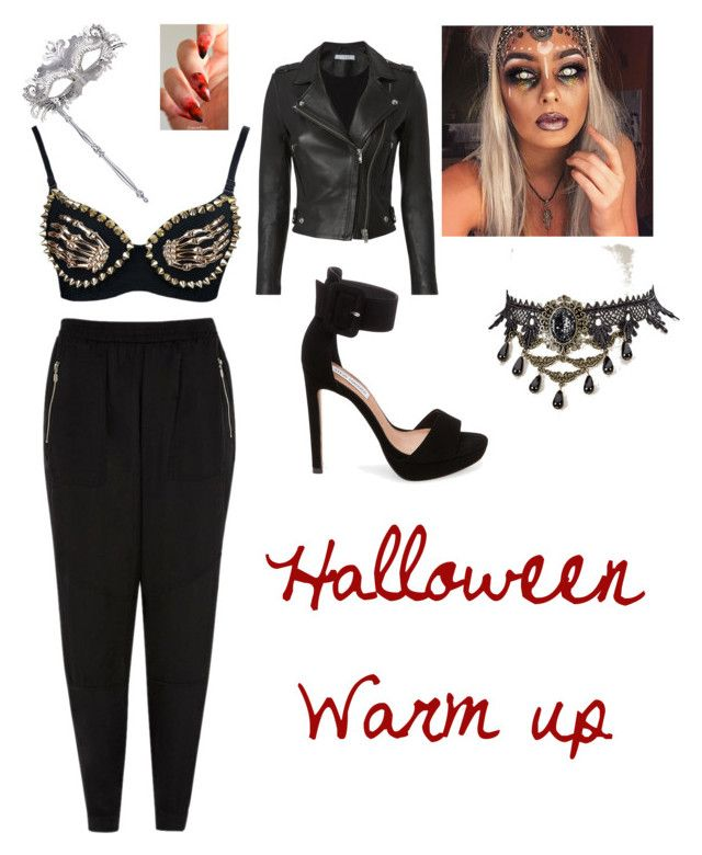 """Spooktober No. 2"" by malumasbaby on Polyvore featuring Mode, River Island, Masquerade und IRO"