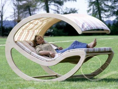 Rocking Bed for Loungers...now that's what I'm talking ...