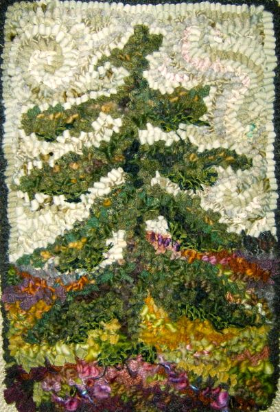 RUG HOOKING DAILY.  i gotta get back to this. i STILL want to make one.