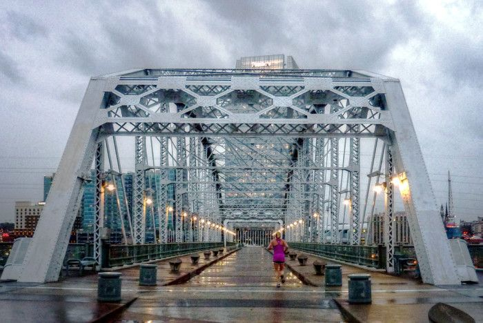 11) Nashville Pedestrian Bridge