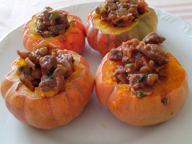 Receita: mini morangas recheadas com carne